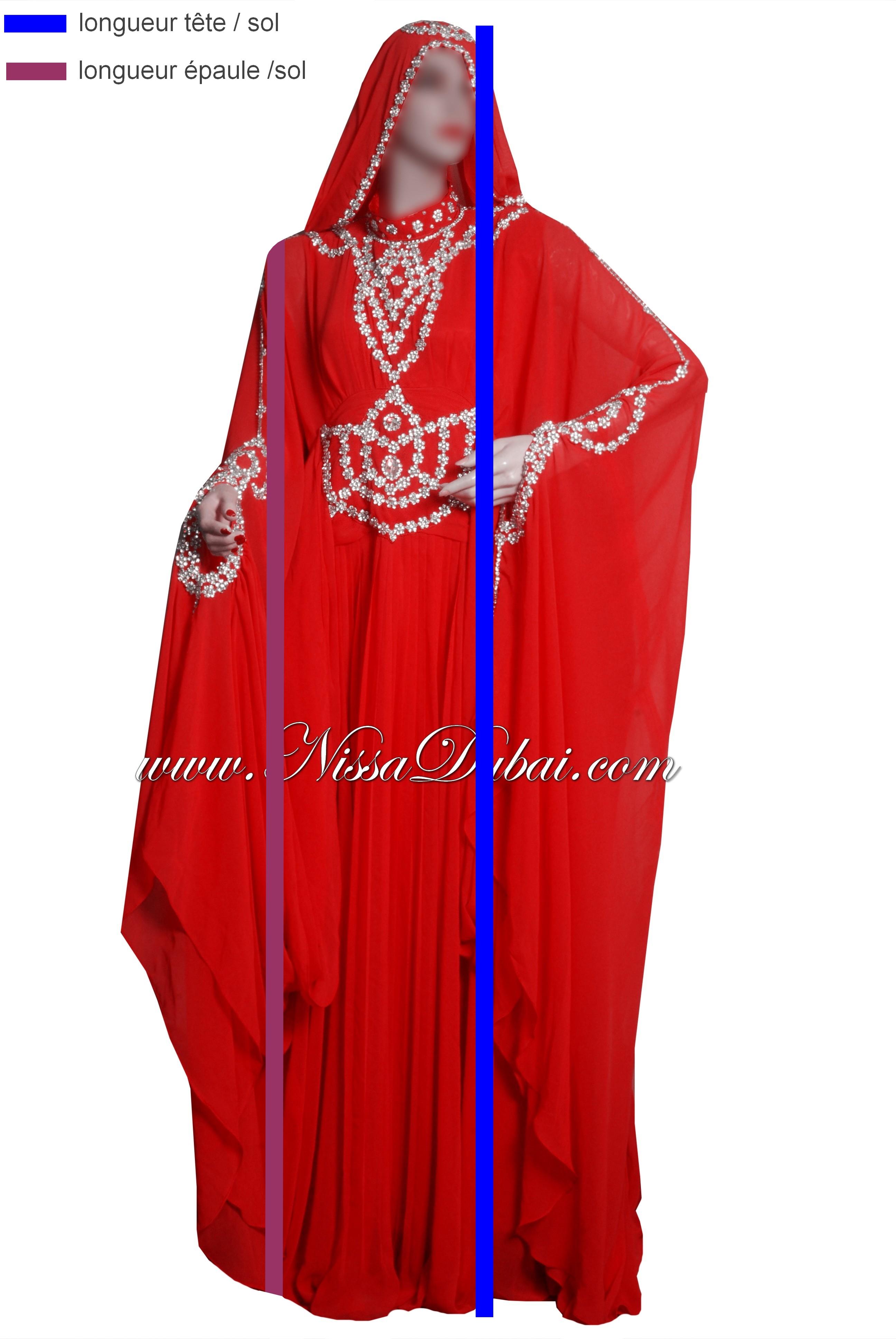 robe dubai sur mesure