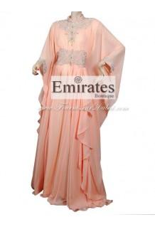 Robe Orientale rose pale
