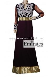 Robe Orientale Dubai 2015 noir